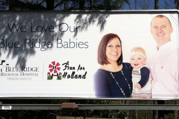 Our Billboard Is Up