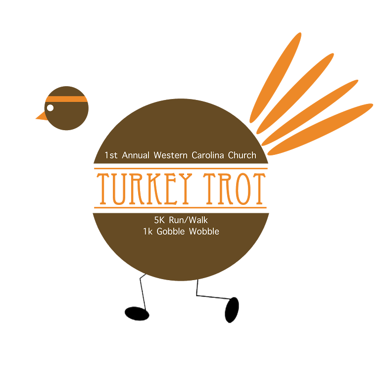 Turkey Trot Logo Trans