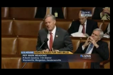 Congressman Mark Meadows discusses Support for ABLE Act