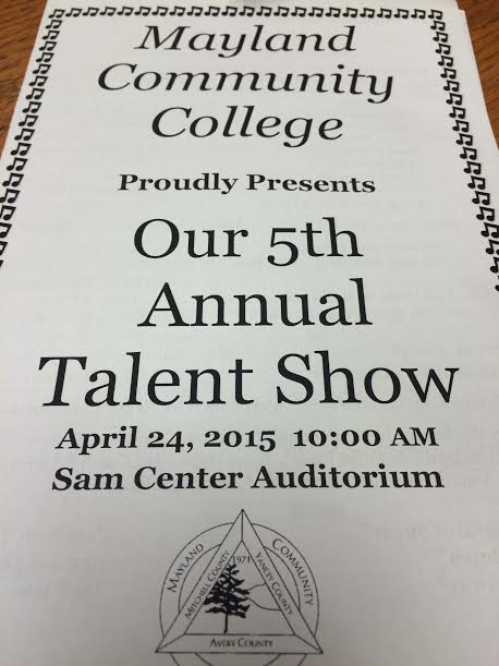 Mayland Community College Talent Show