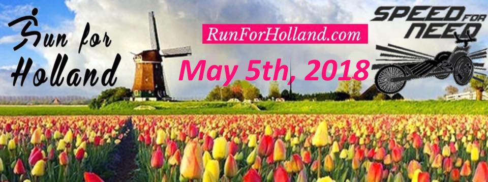 Run For Holland Banner Speed For Need